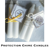 protection chime candles