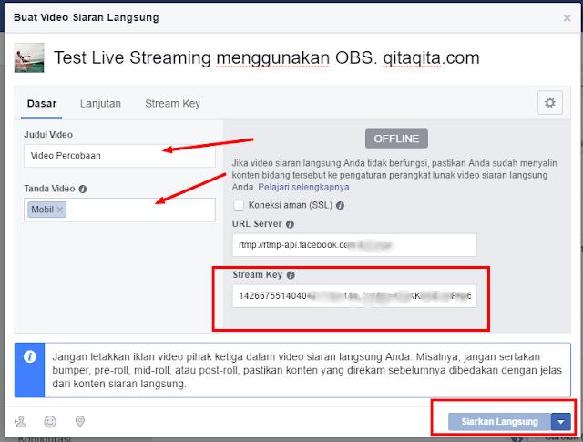 Cara Melakukan Facebook Live Streaming Menggunakan PC