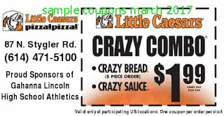 Little Caesars coupons march 2017