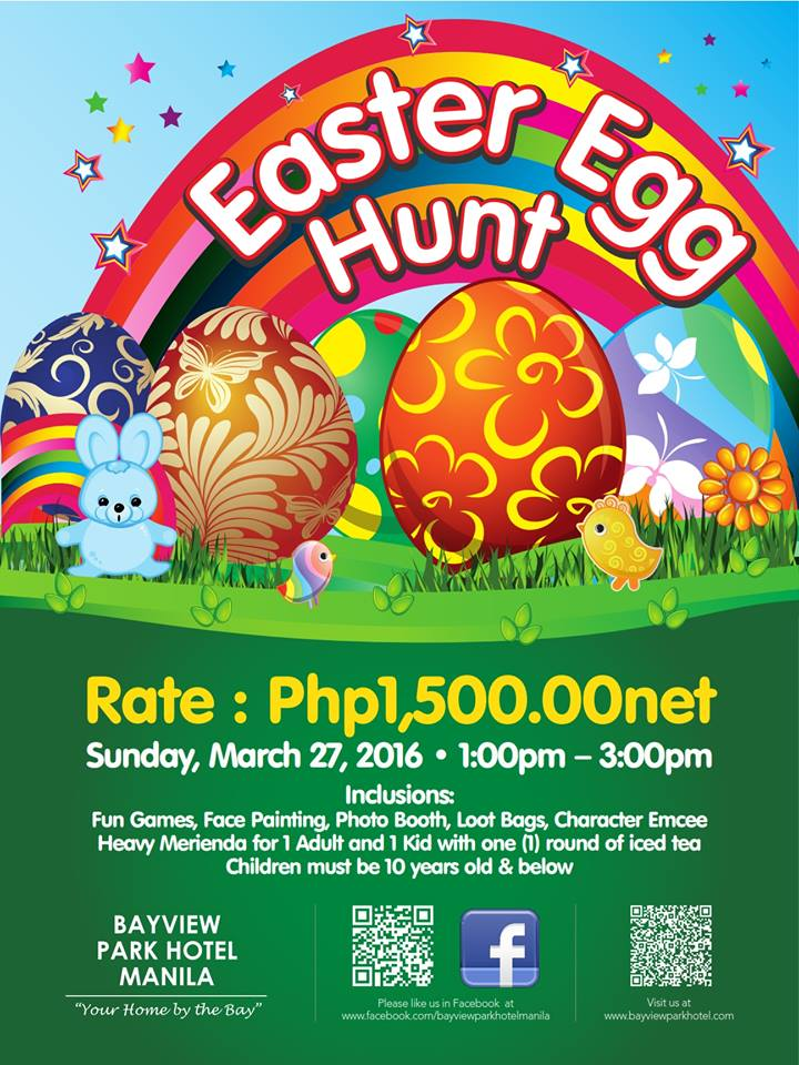 2016 easter egg hunting events in metro manila mommy practicality negle Image collections