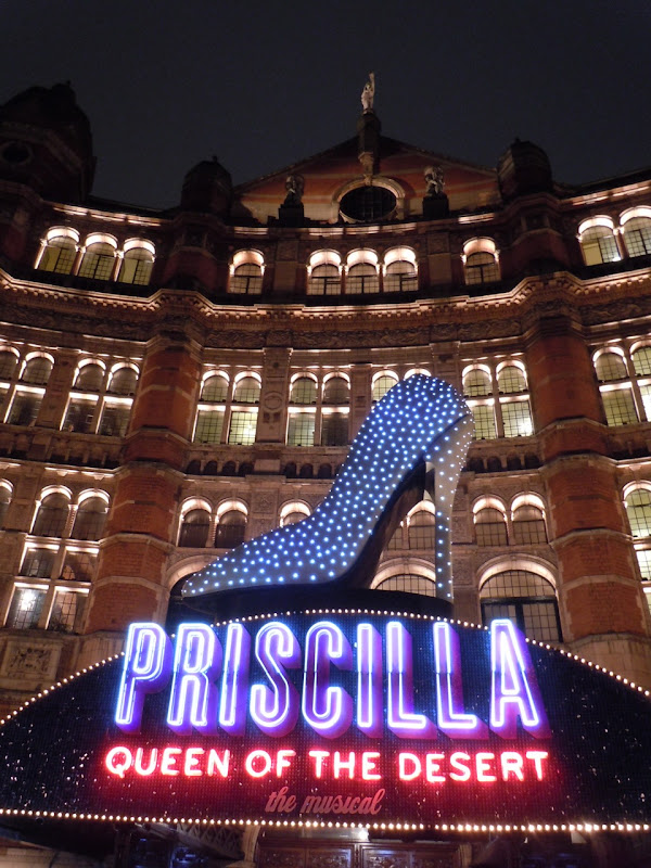 Priscilla Musical Palace Theatre London