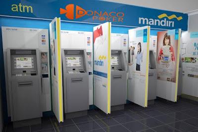 Donacopoker terima deposit melalui Bank Mandiri