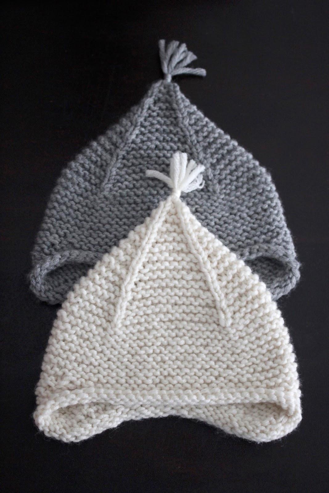 274f5793f38 SweetKM  Purl Soho Garter Earflap Hat