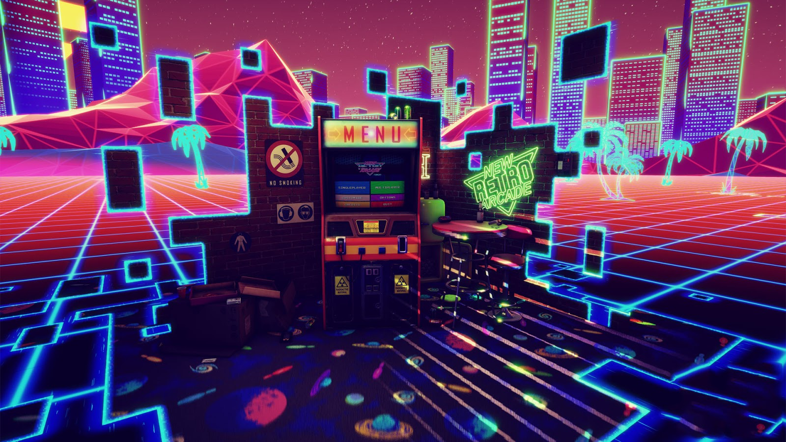 Neon VR Game