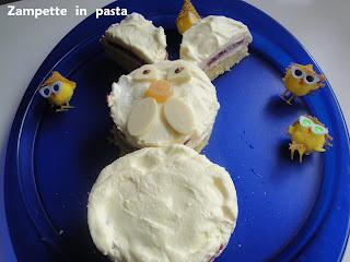 Torta coniglio - Torta per bambini