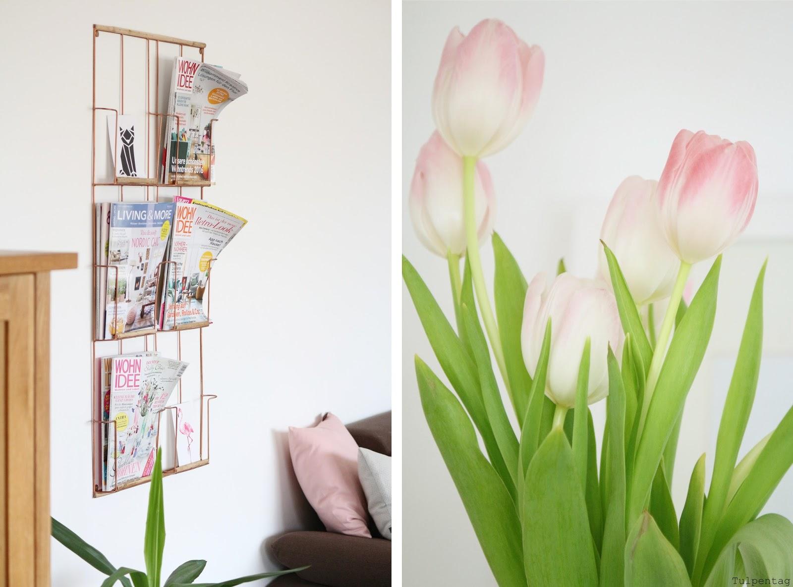 Pastell deko und tulpen den fr hling ins haus holen for Zimmer deko pastell