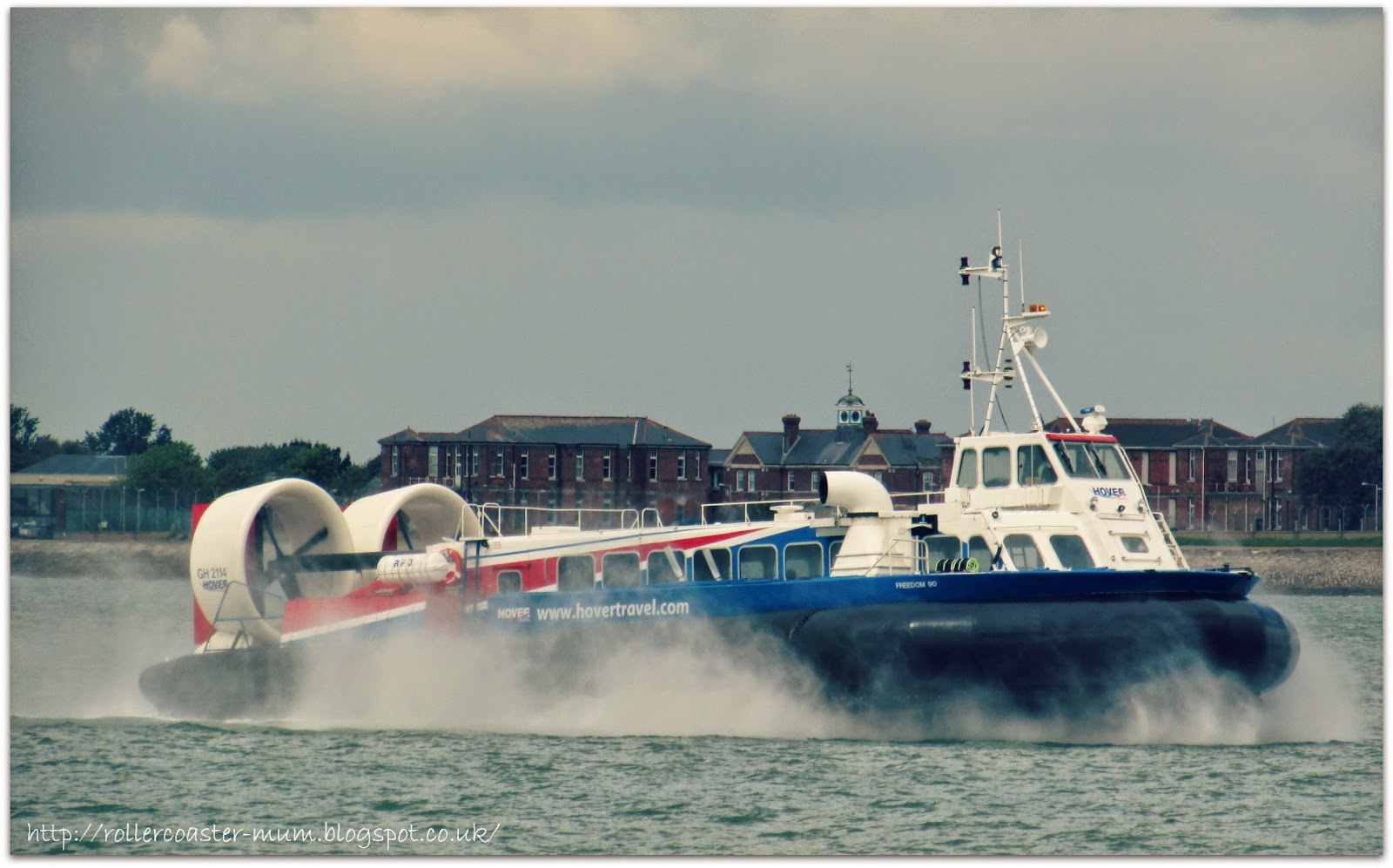 Southsea to Isle of Wight hovercraft