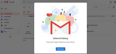 Merubah password email
