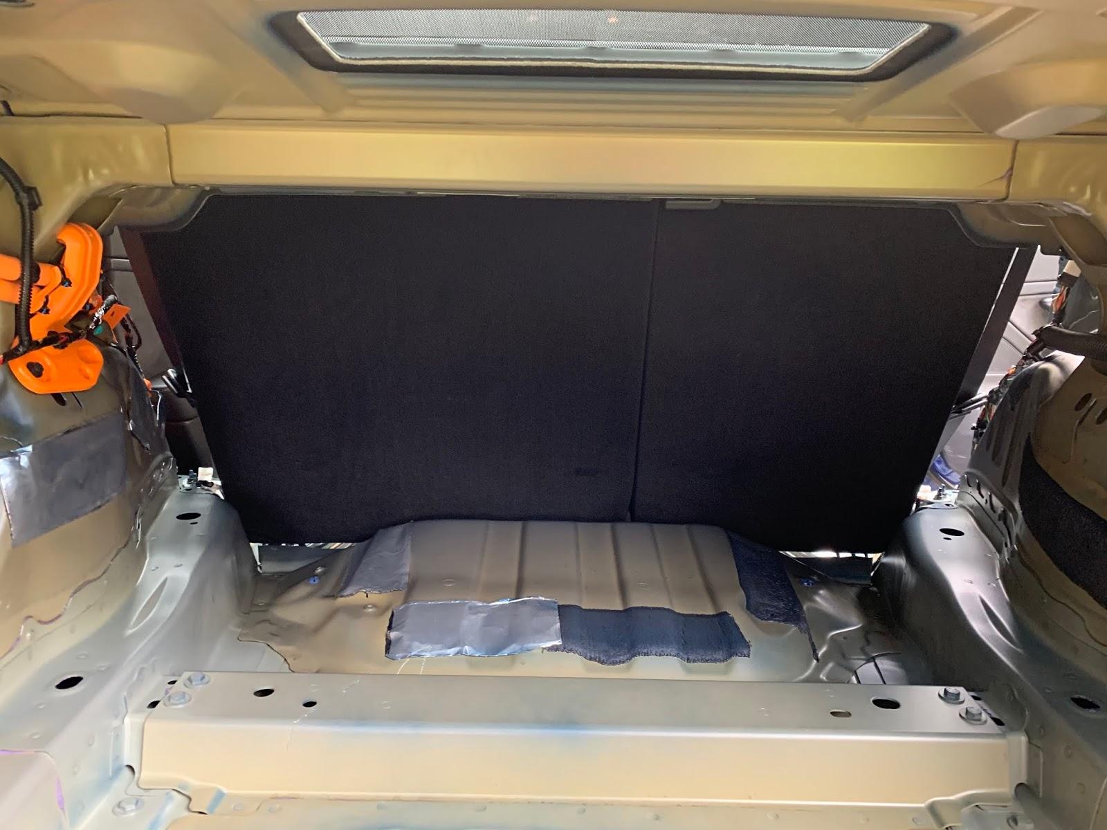 Tesla Model 3 Stereo - Part 3: Trunk Insulation