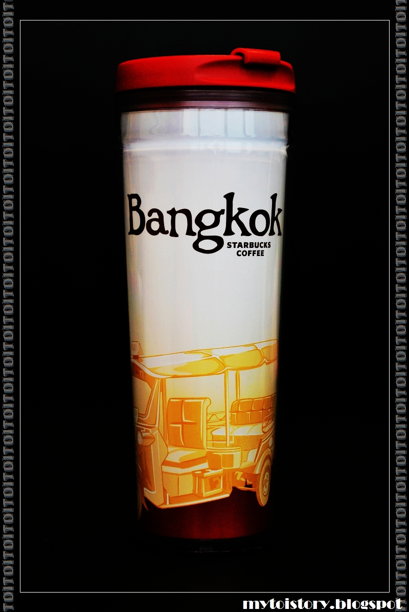 MyToyStory: Starbucks 星巴克 Bangkok 曼谷 12oz Tumbler 隨行杯