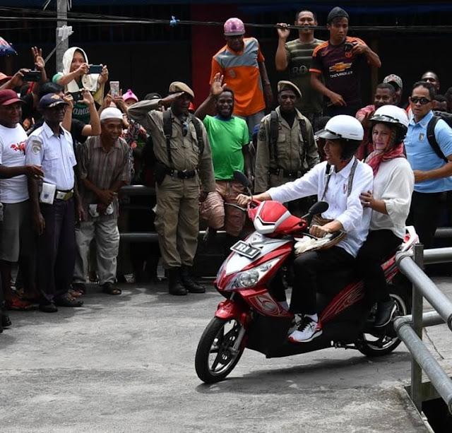 Catatan Jokowi Saat Blusukan di Kabupaten Asmat, Papua