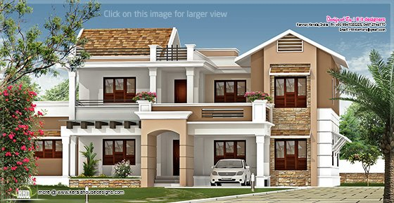 New villa design