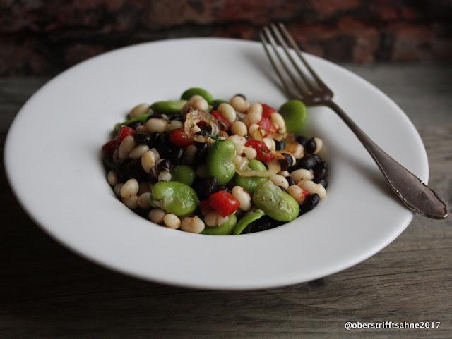 Bunter Bohnensalat mit Thymian