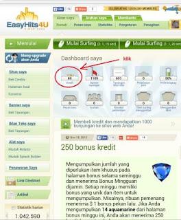 easy4 Cara Mudah Daftar dan Meningkatkan Traffic Blog/Web di Easyhits4u