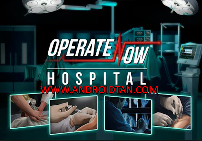 Download Operate Now Hospital Mod Apk + Data v1.3.38 Mega Mod Unlimited Money Terbaru 2017