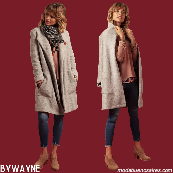 Ropa de moda otoño invierno 2019 moda mujer.
