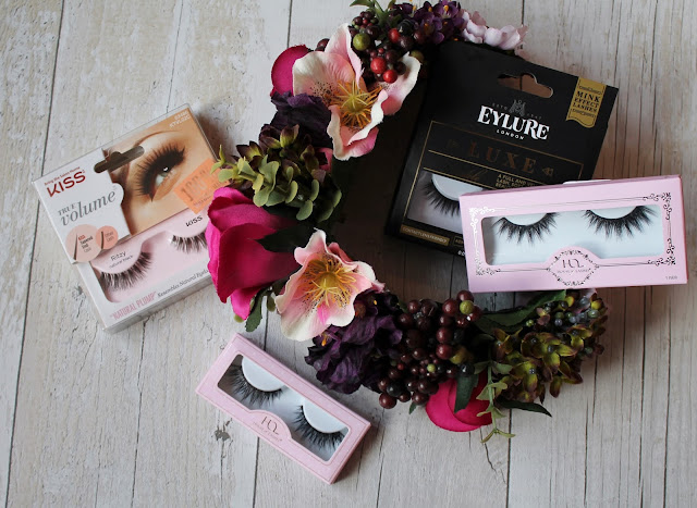 House of Lashes Iconic Mini Review, Kiss Ritzy, Eylure Luxe Bauble