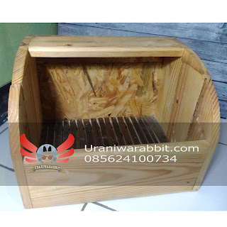 Sarang kelinci - nest box (model B)