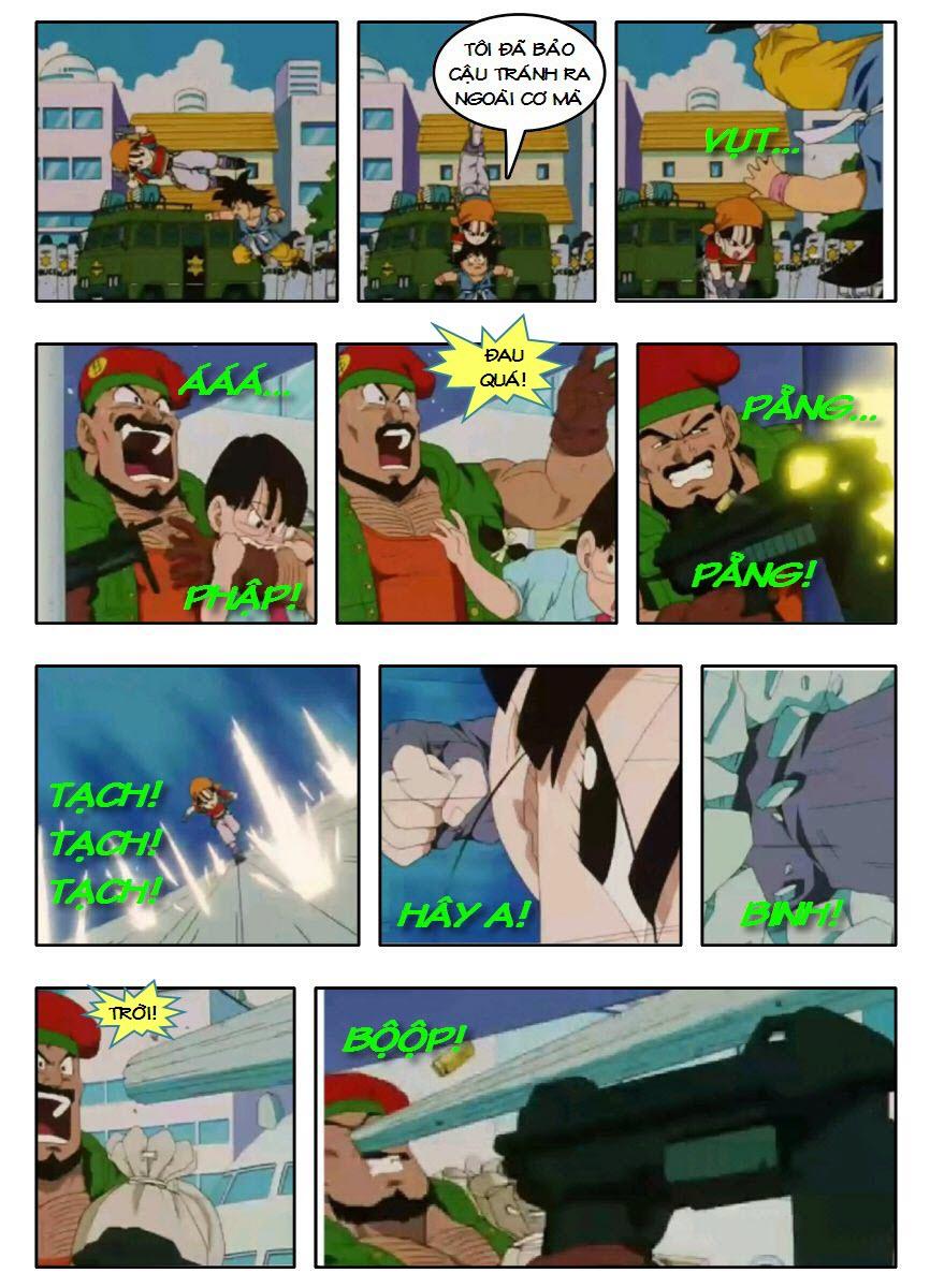 Dragon Ball GT chap 3 - Trang 12