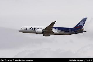 AVIÓN BOEING 787 CC-BBF