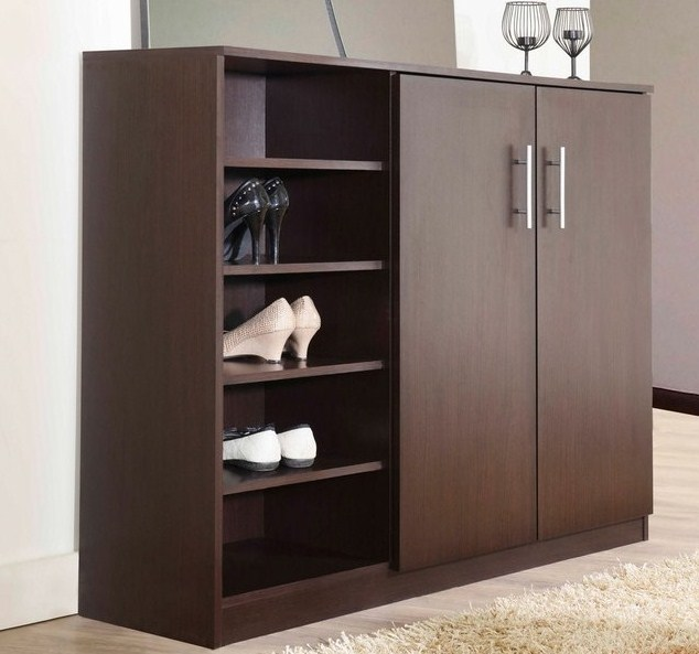 lemari pakaian minimalis model baru sederhana
