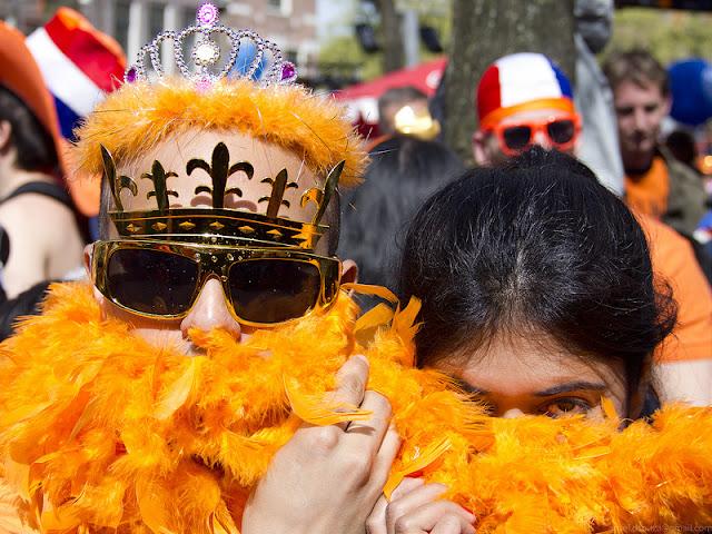 Olanda festa della regina