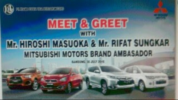 Meet & Greet With Brand Ambasador Mitsubishi Motors