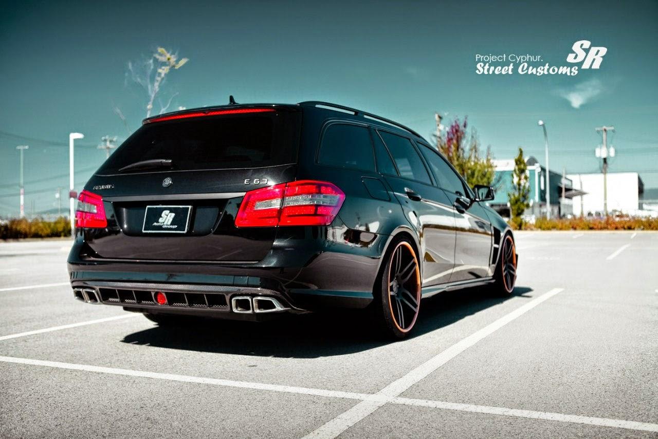 Mercedes-Benz W212 E63 AMG Estate BRABUS Style | BENZTUNING