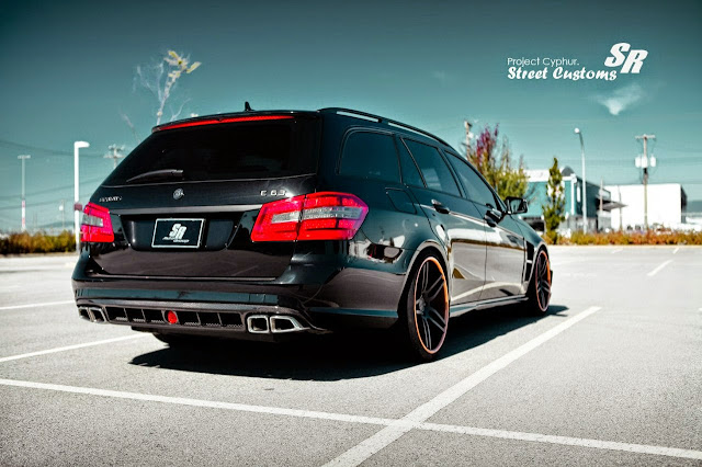 e63 amg wagon custom