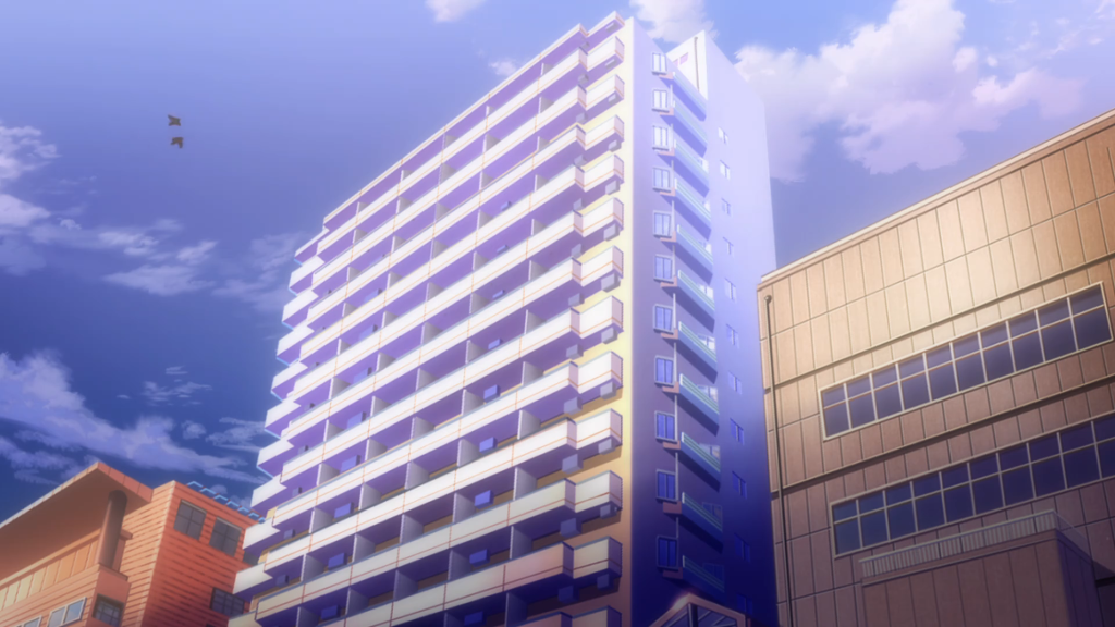I Also Visited The Apartment Building Where Yoshiko Lives In Love Live Sunshine This Is Located Close To Chūō Park
