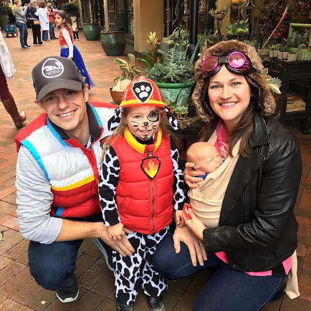 DIY Family Paw Patrol Costumes