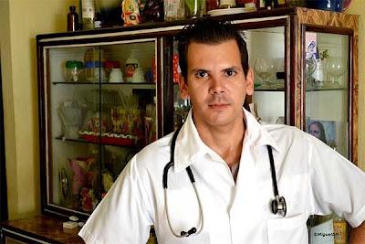 Jose Alberto, cuando llegó de hacer el examen.