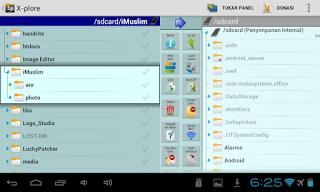 Cara membongkar aplikasi android x-plore