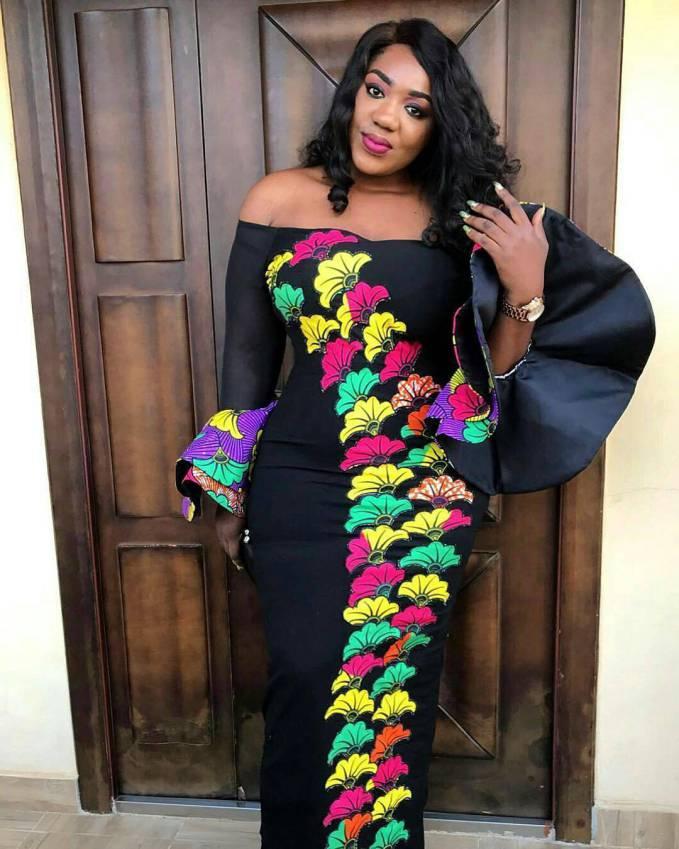 2018 Ankara Styles For Big Ladies Ankara Long Gown
