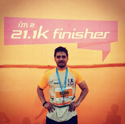 How I Ran My First Marathon!