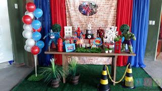 Decoração de festa infantil em Porto Alegre
