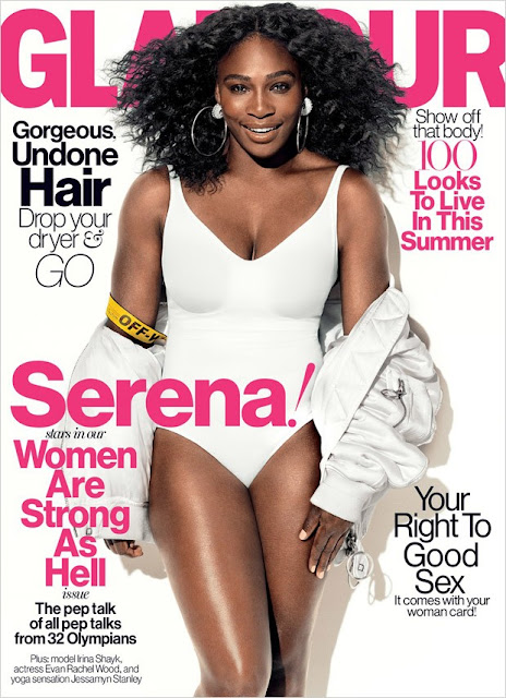 Tennis Player, @ Serena Williams - Glamour US, July 2016