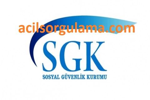 Acil SGK Sorgulama