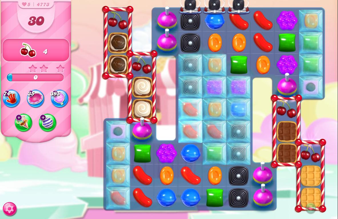 Candy Crush Saga level 4773