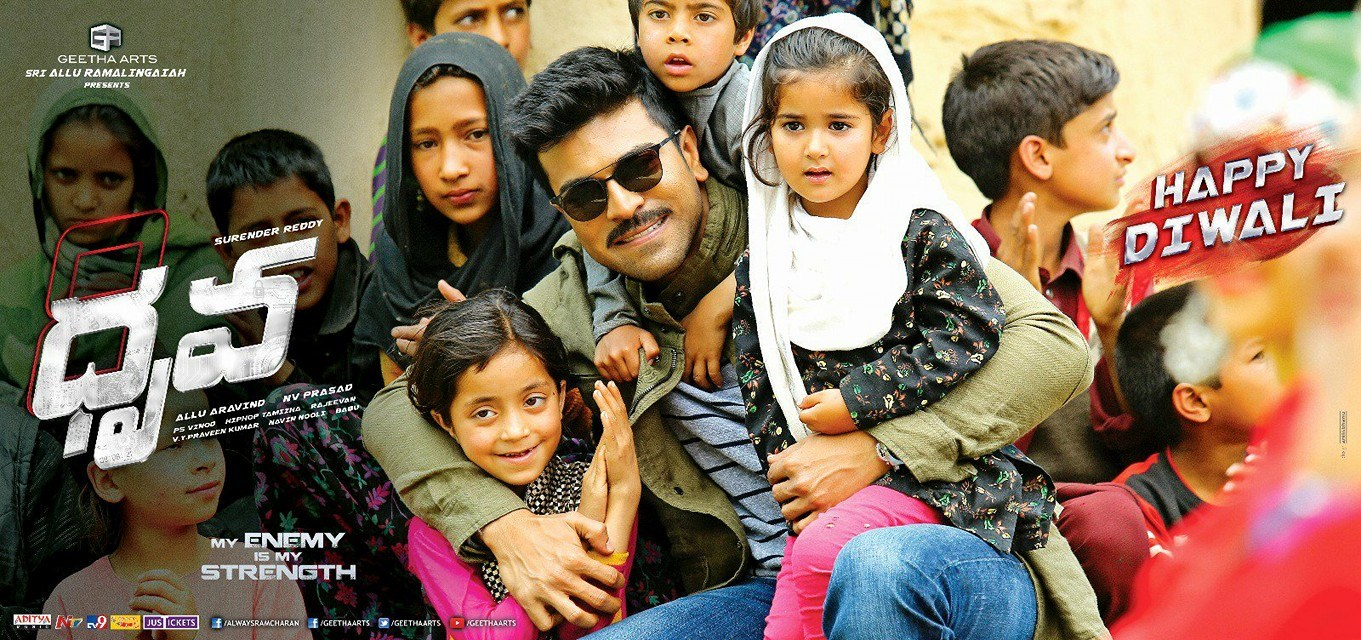 Ram Charan's Dhruva Telugu Movie Latest Posters