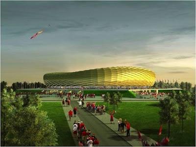 Estadio Kaliningrad Stadium Kaliningrado Rusia Russia