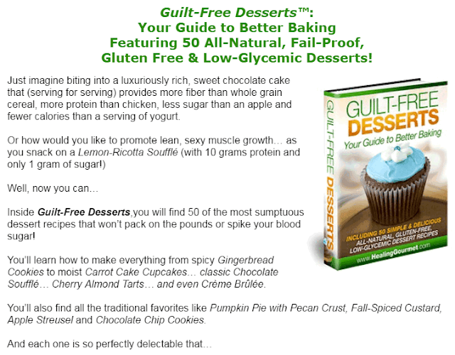 guilt free desserts review, guilt free desserts recipes, guilt free desserts cookbook, guilt free desserts book by kelley herring,