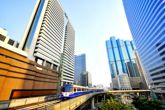 Thị trường nhà đất Băng kok tiếp tục phát triển nhờ giao thông công cộng