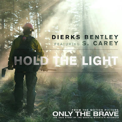 "Dierks Bently and Bon Iver's S. Carey Team Up for ""Hold The Light"" from Upcoming Film 'Only The Brave'"
