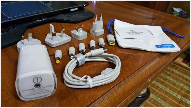 Keunikan Universal Laptop Adapter Innergie PowerGear ICE 65