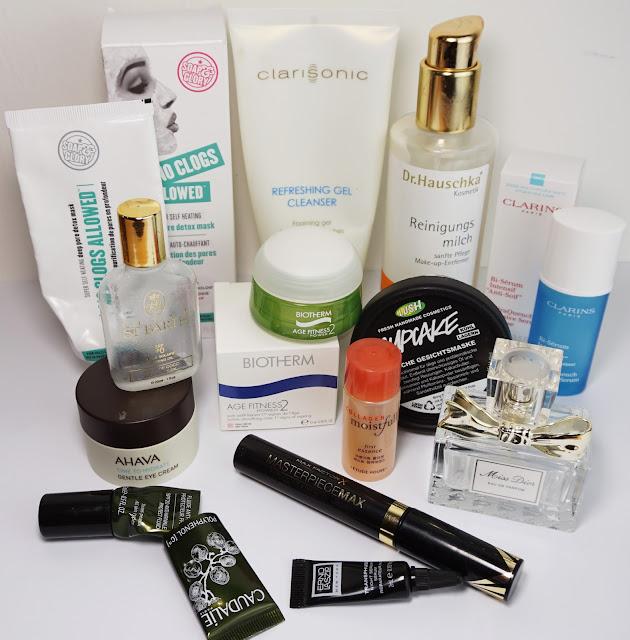 Aufgebrauche Kosmetik Oktober 2015, LUSH, Dior, Clarins, Soap & Glory, Clarisonic