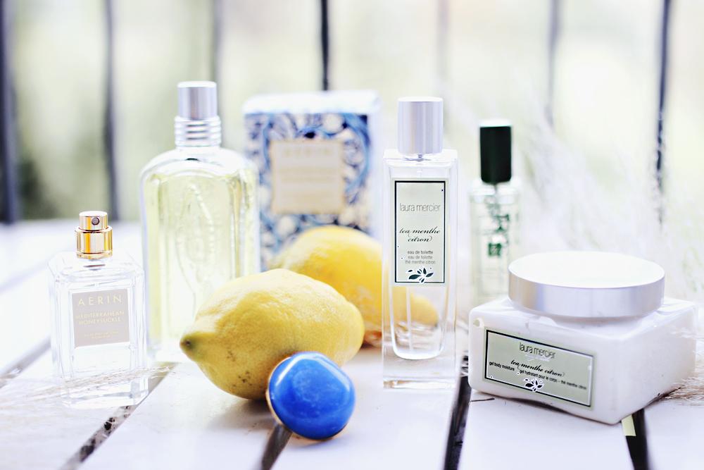 citrus lemon based fragrances perfumes blog review