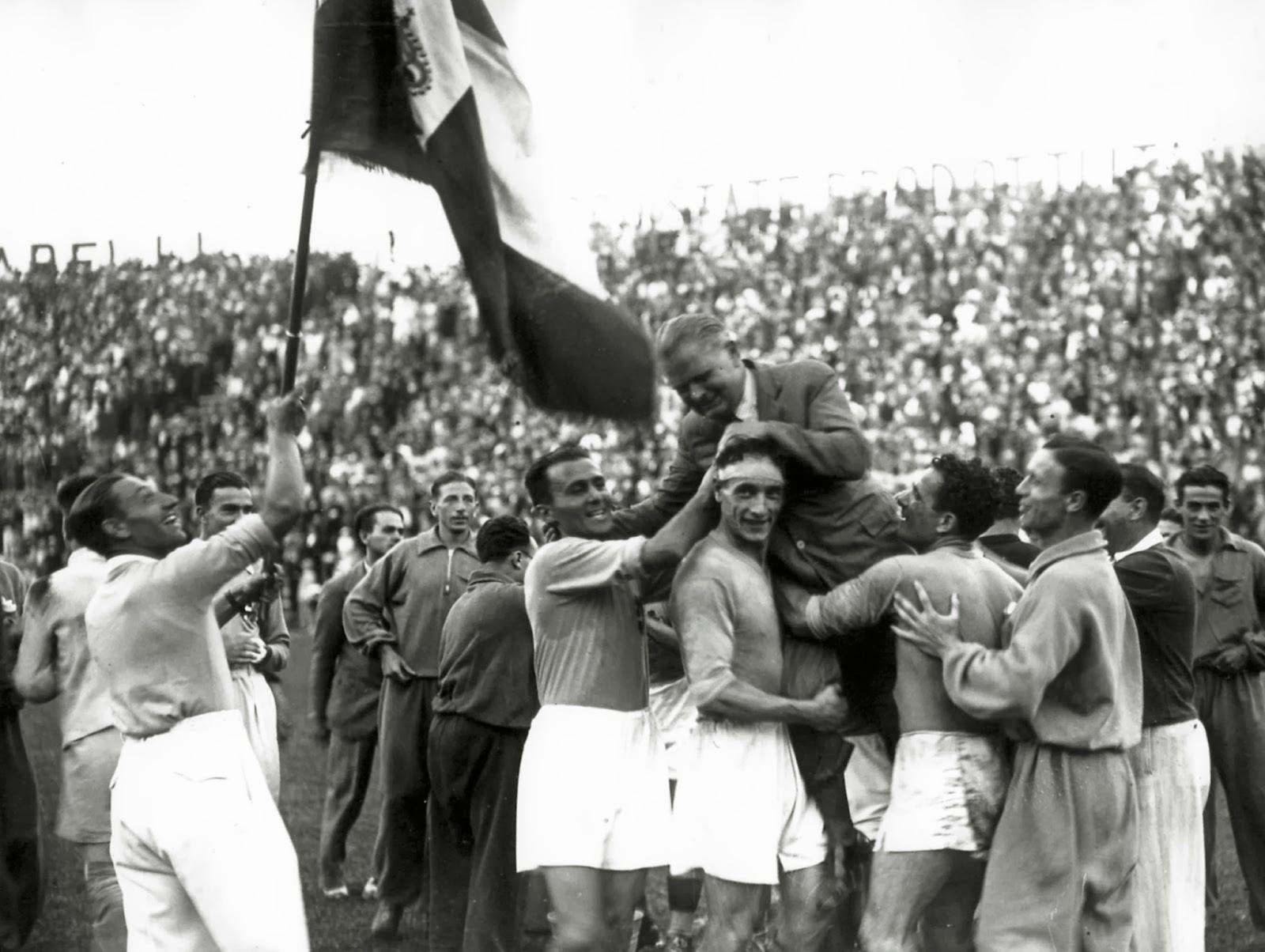 Resultado de imagem para seleçao italiana 1950