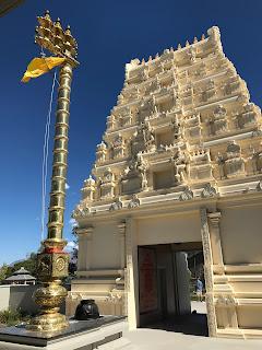 Hindu Temple - Sri Ganesha Hindu Temple - South Jordan, Utah