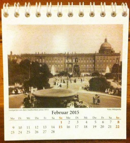Stadtschloss e Lustgarten, Berlim em 1913